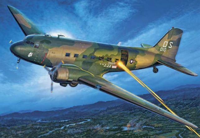 AC 47 SPOOKY GUNSHIP VIETNAM PATCH DOUGLAS DC 3 WOW