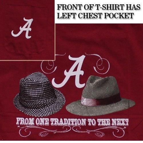 Alabama Crimson Tide Football T Shirts   Nick Saban and Bear Bryant