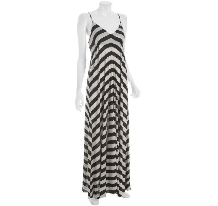 Wyatt stripe jersey maxi dress